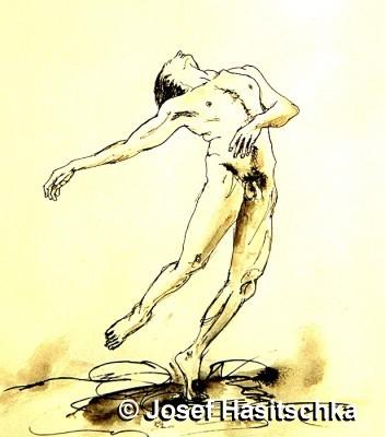 Akt der Tänzer